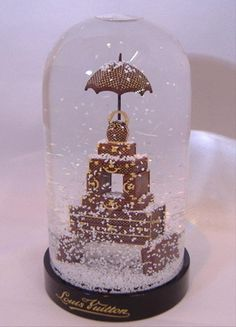 Louis Vuitton Snow Globe Malles Tour Eiffel Boule À Neige Dome