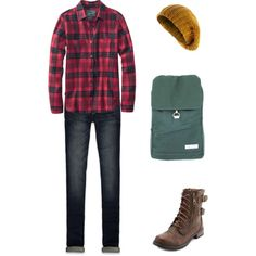"""""""I'm going to the woods!"""" by idmarryjenny on Polyvore"""
