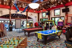 Mega-mansion Sci-Fi Entertainment Complex - pic 4 of 6 - The Game Room