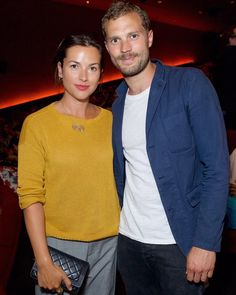 いいね!403件、コメント12件 ― Anthonyさん(@jamiedornanonline)のInstagramアカウント: 「Jamie Dornan & Amelia Warner at last night's screening of the BFC #FashionArtsFoundation…」