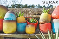 Colorful Serax potteries collection