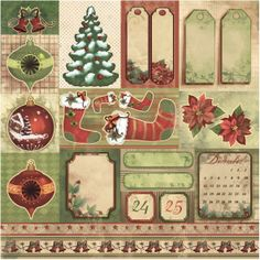 Christmas time - Dodatki » Papiery do scrapbookingu » LEMONADE Scrapbooking, cardmaking, papercrafts
