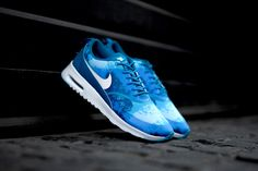 Nike Air Max Thea Print Blue Lacquer
