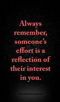 Or lack of effort...