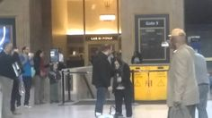Marriage proposal at 30th street station in phily