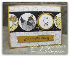 Stampin'Up! Hey, Chick stamp set FREE Sale a Bration set.  Greatest Greetings for sentiment http://www.starzlstamps.com/2017/01/hey-chick-free-sale-a-bration-stamp-set.html