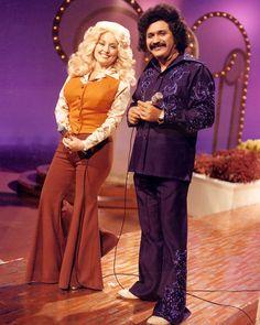 Dolly Parton and Freddy Fender.