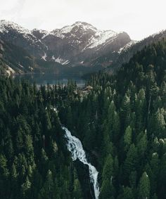 """""""Canada's got some of the best waterfalls"""". 