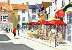 Brighton lanes cafes Brighton Lanes, Brighton And Hove, Gcse Art, East Sussex, Painting & Drawing, Modern Art, Creativity, Paintings, Adventure