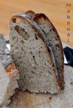 1.2.3 Pain de campagne au levain - MakanaiMakanai Good Food, Yummy Food, Bread Bun, My Best Recipe, Sourdough Bread, How To Make Bread, Easy Cooking, Bakery, Food Porn