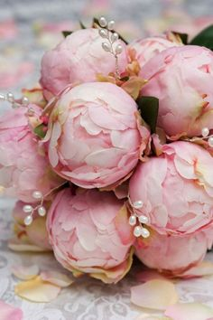 Peonies- My favorite Flowers along with Sunflowers. I call them cabbage roses, but they are Peonies..Pretty no matter their name :)