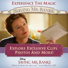 Let the magic take you away with the #SavingMrBanks Magical Memories Carousel! Enter for a chance to win a trip to Disneyland.