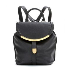 See by Chloé - Leather backpack #backpack #covetme #seebychloé
