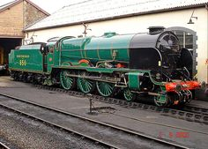 Preserved Lord Nelson class 850 Lord Nelson