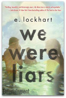 We Were Liars a novel by E Lockhart. Read this book. You must get to it before too many people start talking about it. And believe me. They will. Online Book Price Comparison.