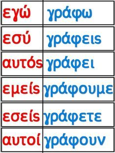 Greek Writing, Learn Greek, Greek Language, Starting School, Greek Alphabet, School Worksheets, Greek Words, Word Pictures, Greek Quotes