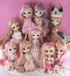 Pink Pullip Family Portrait 2