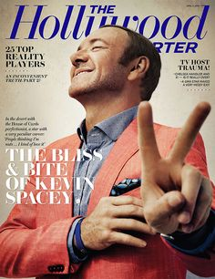 kevin spacey / hollywood reporter