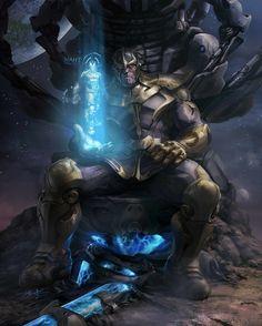 Incredible Thanos Character Illustration — GeekTyrant