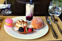 Dessert selections at Scarpetta's Sunday brunch. Sunday Brunch, Fine Dining, Beverly Hills, Husband, Treats, Desserts, Recipes, Sweet Like Candy, Tailgate Desserts