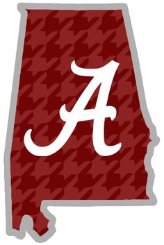 Font Alabama A For Silhouette Alabama Outline Clip Art