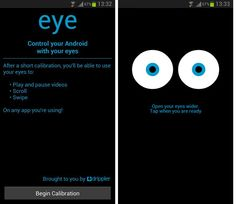iphone eye tracking app