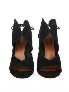 Aquazzura Yasmin suede sandals