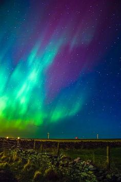 The northern lights in Kirkwall, Orkney Islands. Picture: Bethan Sian Davies of Kirkwall, Orkney Islands