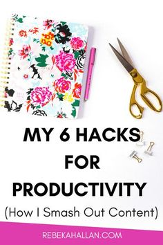 As a self-proclaimed content creating a machine, I am extremely productive. Did you know you are less productive when .