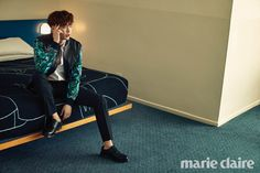 Lee Jong Suk - Marie Claire Magazine March Issue '15