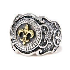 Bronze Ouro Fleur De Lis, 925 prata esterlina nos Tamanho 13,5 Masculino Anel tan-r003 | Joias, bijuterias e relógios, Joias masculinas, Anéis | eBay!