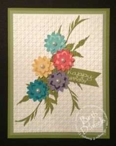 Stampin Up Boho Blossoms | Stampin Up