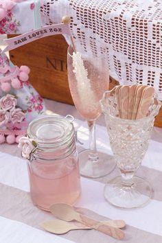 Shabby Chic Vintage Themed Bridal Shower Planning via Kara's Party Ideas www.KarasPartyIdeas.com