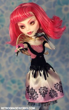 'Davita' Custom Monster High Cupid by Retrograde Works
