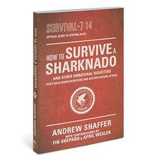 ThinkGeek :: The Official Sharknado Survival Guide @Cataluna6