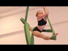 Aerial Silks - Rae Mae 2014 - YouTube. I want to do the spin she does at 2:33.