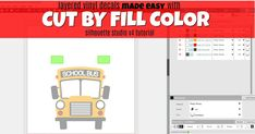 The hands down easiest way to layer vinyl decals: use the Silhouette Studio V4 tool Cut By Color! This Silhouette tutorial shows you exactly how!