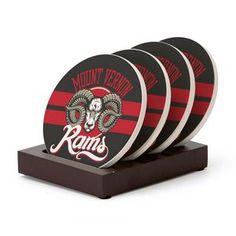 4pc. Round Coaster Set with Stand   Minimum order 25, $14.11 - $10.47 ea.