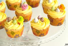 Paascupcakes - http://www.volrecepten.be/r/paascupcakes-708891.html