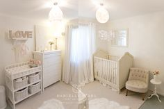 Our Baby Girl's Nursery | Canberra Baby Photographer