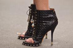 Zapatos Botines Peep Toe Celebrities Bloggers