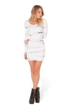 Mummy Returns Long Sleeve Dress (WW $99AUD / $94 USD) by Black Milk Clothing