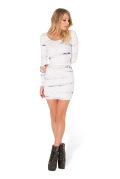 Mummy Returns Long Sleeve Dress (WW $99AUD / $94 USD) by Black Milk Clothing