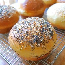 Soft, pillowy buns for burgers and sandwiches.