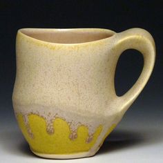 Gwendolyn Yoppolo - 2013 matte crystalline, glazed porcelain coffee mug