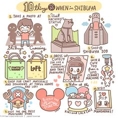 10 Things to do when in Shibuya   Little Miss Paint Brush