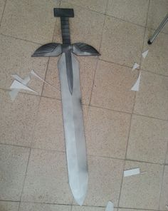 Erza Scarlet Cosplay Heart Kreuz Sword