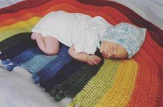 Rainbow Drop Blanket pattern by Melu Crochet Baby Afghan   Etsy Baby Afghan Crochet, Baby Afghans, Crochet Blanket Patterns, Crochet Stitches, Stitch Patterns, Baby Blankets, Modern Crochet Patterns, Bobble Stitch, Lap Blanket