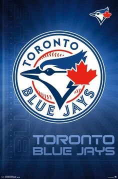 Toronto Blue Jays Logo 22 X 34 Inches #MLB Poster from $9.99