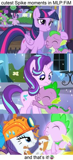 cutest Spike moments in MLP:FiM by Titanium-dats-me